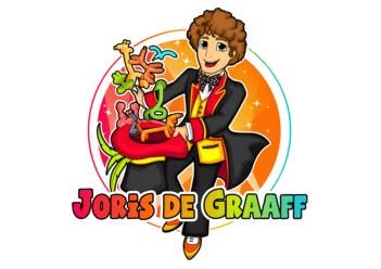 Ballonartiest en goochelaar Joris de Graaff